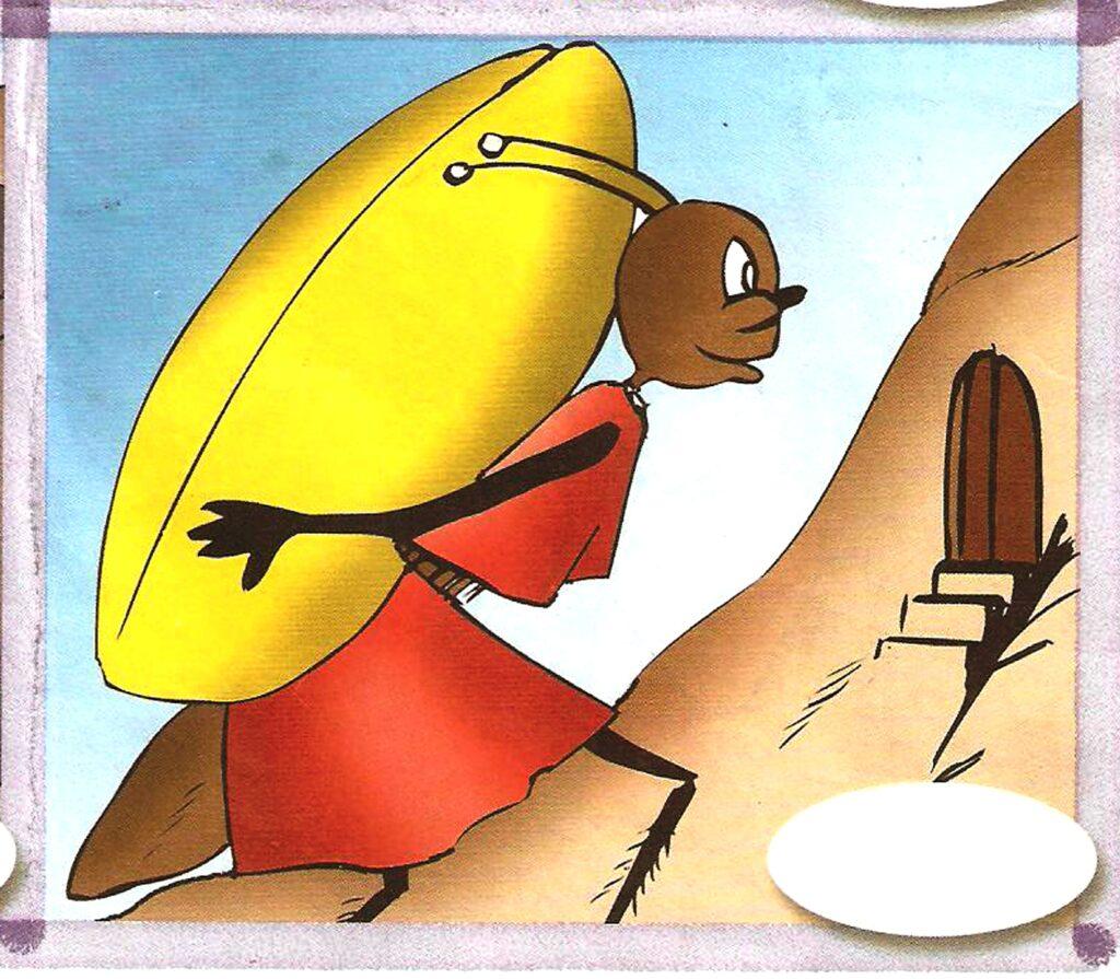الصرار و النملة 2