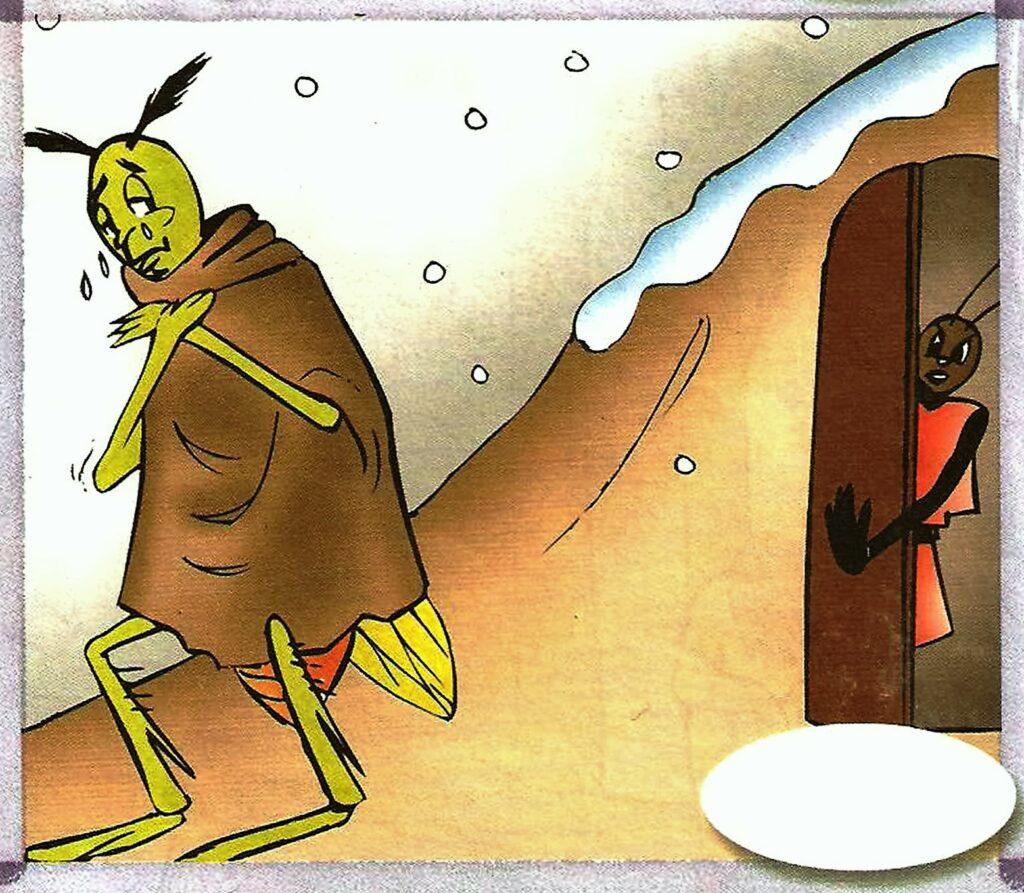 الصرار و النملة 3