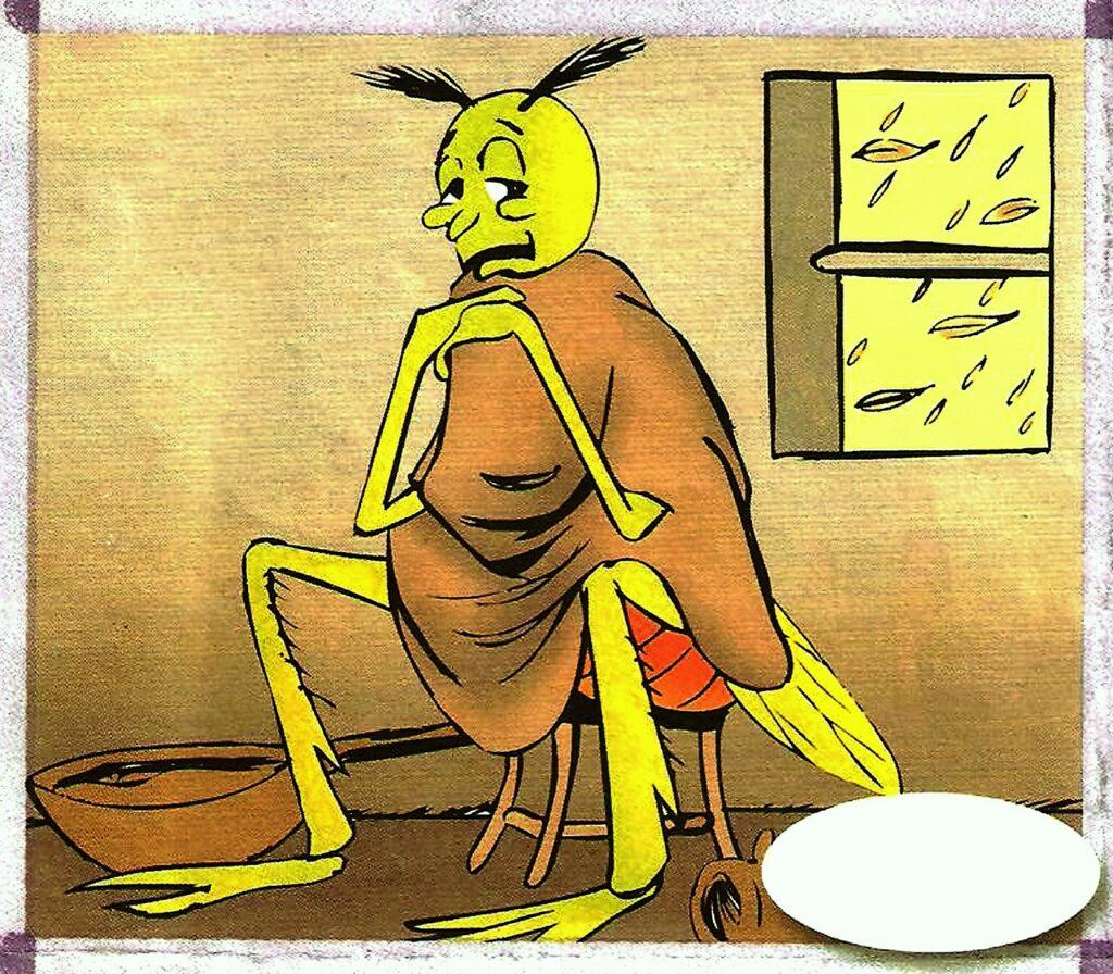 الصرار و النملة 4
