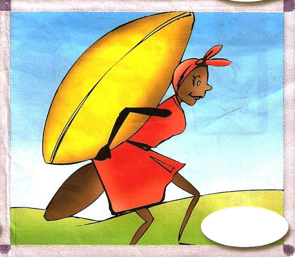 الصرار و النملة 7