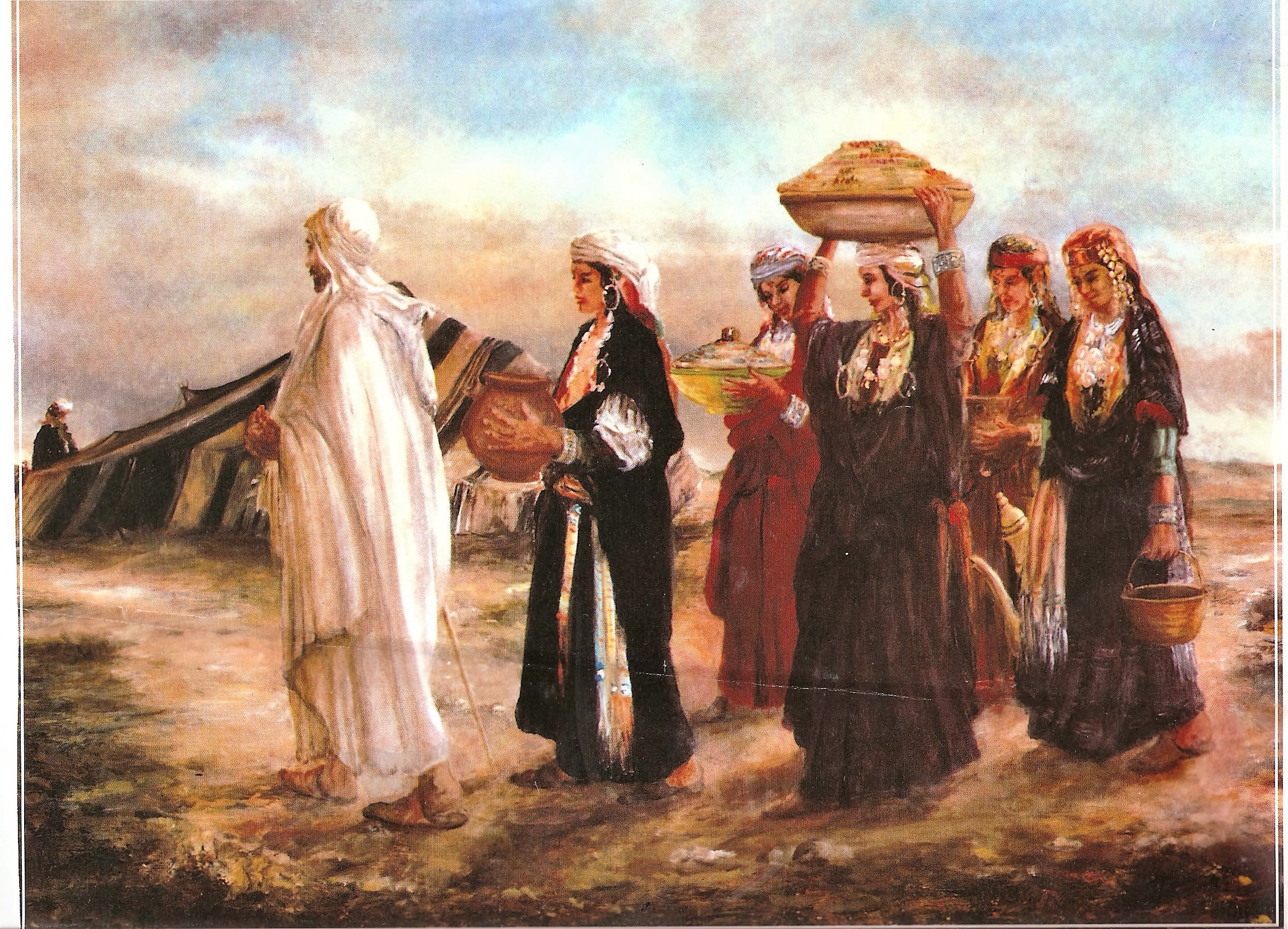 الواحة المرأة التقليدية