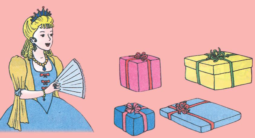 Poème les cadeaux 1 livre de lecture 3 ème année