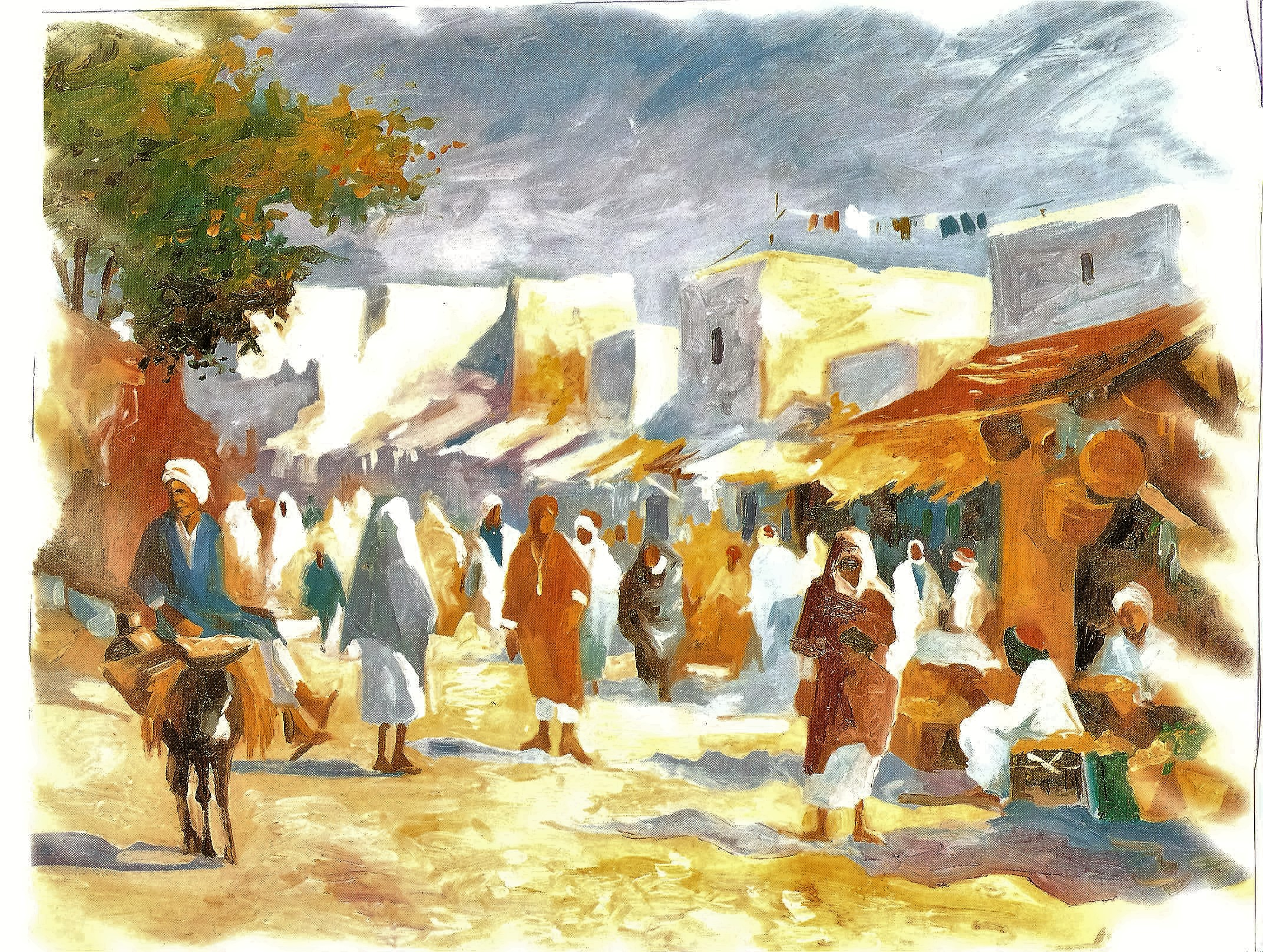 femme الحي العتيق المرأة