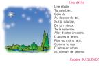 Photo of Poème une étoile livre de lecture de 4 ème année
