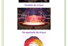 Photo of texte : au cirque
