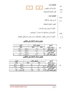devoir eslamia 1 er anné trimestre 3 madrassatii_003