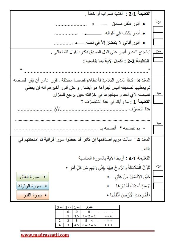 devoir eslamia 2 eme trimestre 3 madrassatii com 2_002