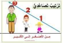 Photo of معلقات : الترتيب التنازلي و الترتيب التصاعدي