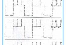 صورة تمارين للروضة و التحضيري : تدريب على الكتابة – الخطوط: الخط المائل – الخط الافقي – الخط العمودي