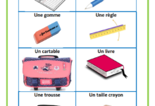 Photo of fournitures scolaires en poster