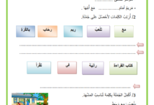Photo of تمارين في مادة القراءة  السنة الاولى  السداسي 1