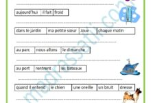 Photo of Exercice former des phrases