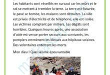 صورة le séisme – les catastrophes naturelles