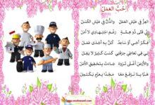 Photo of قصيدة : حب العمل