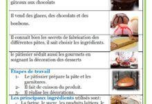 صورة les métiers – le pâtissier