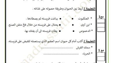 Photo of تقييم السداسي الثاني في مادة الايقاظ العلمي السنة الخامسة