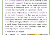 Photo of au cirque- le spectacle – les clowns