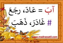 صورة أحبُّ لغتي العربيّة : مرادفات و أضداد ( ملف رقم 1 )