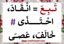 Photo of أحبُّ لغتي العربيّة : مرادفات و أضداد ( ملف رقم 3 )