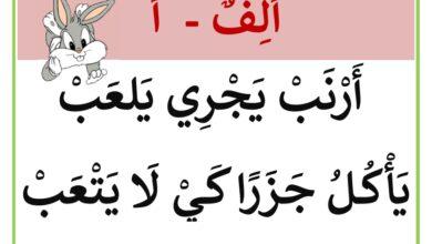 Photo of معلقات : أنشودة الحروف الهجائية