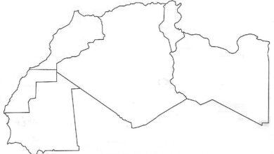 Photo of الخريطة الصامتة لبلدان المغرب العربي