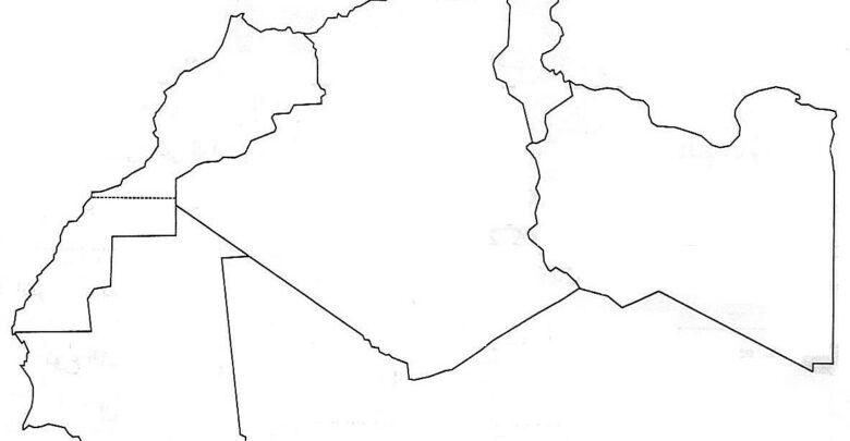 المغرب العربي خرائط مجانية