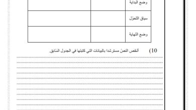 Photo of إختبار تقييمي في مادة القراءة السنة السادسة إبتدائي