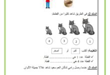 Photo of اختبار في مادة الايقاظ العلمي السداسي الأول السنة الأولى