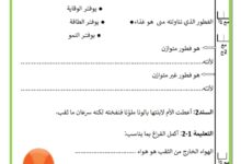 Photo of اختبار السداسي الاول في مادة الايقاظ العلمي السنة الرابعة