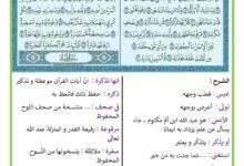 Photo of تفسير سورة عبس