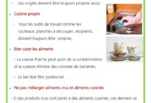 Photo of conseils  –  Hygiènes alimentaires