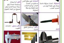 Photo of محور المهن : أدوات الحدّاد
