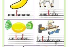 Photo of des mots contenant la lettre b