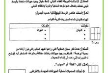 Photo of اختبار الثلاثي الثالث – ايقاظ علمي –  السنة الخامسة