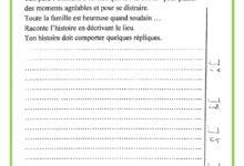 Photo of examen de production écrite – 3 ème trimestre – 5 ème année