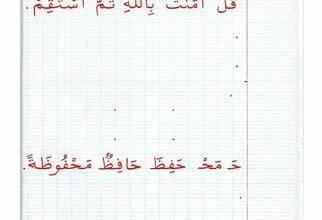 Photo of كراس الخط ( حكم و أمثال)
