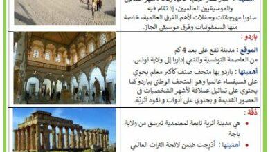 Photo of بعض المواقع الأثرية في البلاد التونسية
