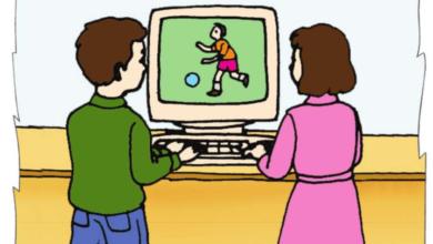 صورة تعطّل الحاسوب فتدخّل الأب لإصلاح المشكل مشاهد   للسنة الثانية