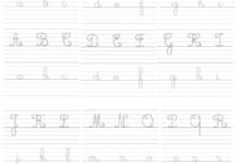 Photo of exercice d'ecriture révision des lettres