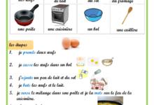 صورة Production recette pour faire une omelette