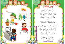 Photo of أنشودة وطن الأطفال – سلمان العيسى – السنة الأولى