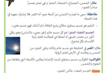 Photo of الجسم المضيء و الجسم المضاء المنير
