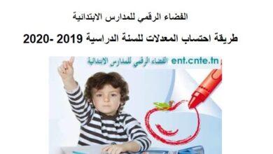 Photo of طريقة احتساب المعدلات للسنة الدراسية 2019 -2020