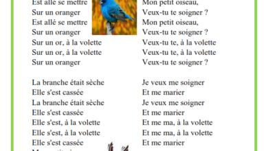 Photo of À la volette – chanson