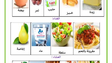 Photo of مثال يومي للتغذية المتوازنة – الوجبات الغذائية